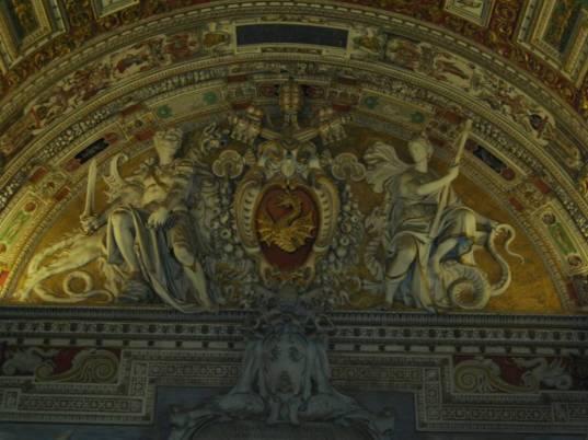 Dragon at vatican